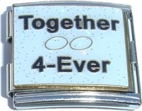 CT5120 Together Forever Mega Italian Charm