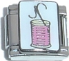 CT3238 Needle and Thread Italian Charm
