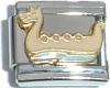 CT3360 Dragon Boat Italian Charm