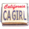 CT9785 California Girl Italian Charm