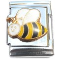 tallCT1067 Happy Bee Tall Italian Charm