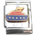 13mmCT1172 Cruise Ship 13mm Italian Charm