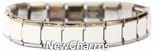 13mm Starter Bracelet (Brushed, 18 links)