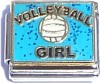 CT9083 Volleyball Girl Italian Charm