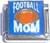 CT9110 Football Mom Blue Italian Charm