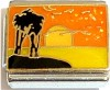 CT9258 Sunset Beach Silhouette Italian Charm