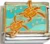 CT9266 Sea Turtles Italian Charm