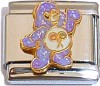 CT6199 Care Bear Purple Italian Charm