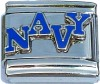 CT6236 Navy Italian Charms