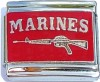 CT6246 Marines Italian Charms