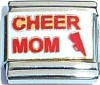 CT6297 Cheer Mom Italian Charm