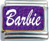 CT6551 Barbie Purple Italian Charm