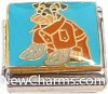 CT9454 Dog With Coat Italian Charm