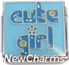 CT9711 Cute Girl Italian Charm