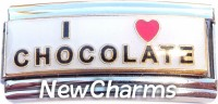 CT9718 I Love Chocolate Italian Charm (superlink)