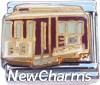 CT9722 Trolley Car Italian Charm