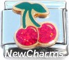 CT9742 Cherries Italian Charm