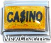 CT9757 Casino Dollar Sign Italian Charma