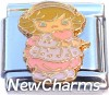 CT9758 Precious Girl Doll Italian Charm