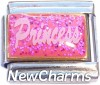 CT9765 Princess on Pink Italian Charm