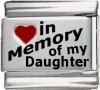 In Memory of my Daughter