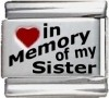 In Memory of my Sister