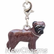 CH507 Brown Terrier Dog Dangle