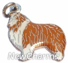 JR120 Collie ORing Charm