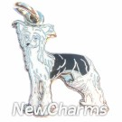JR186 Chinese Crested ORing Charm