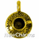 JS101 Gold Teacup ORing Charm