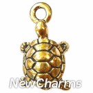 JT133 Gold Turtle ORing Charm