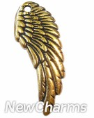 JT137 Gold Butterfly ORing Charm