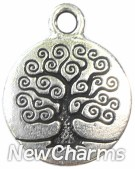 JT140 Silver Tree Of Life ORing Charm
