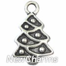 JT149 Silver Christmas Tree ORing Charm