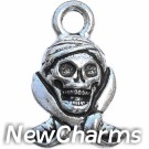 JT155 Pirate Skull O-Ring Charm