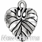 JT171 O-Ring Dangle Silver Leaf