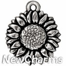 JT193--Silver-Sunflower-O-Ring-Charm