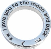 I love you to the moon and back Open Disk