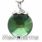 CH434 Emerald Pearl Dangle