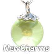 CH437 Peridot Pearl Dangle