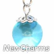 CH438 Aqua Pearl Dangle