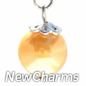CH440 Gold Pearl Dangle