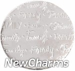 DR903 Silver MEDIUM Handwritten Family Disk