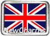 Great Britian Photo Flag Floating Locket Charm