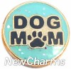 H1243 Dog Mom Floating Locket Charm