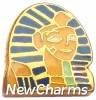 H1612 Egyptian Pharaoh Floating Locket Charm