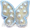 H6121 Big Butterfly Floating Locket Charm