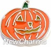 H7639 Jack-O-Lantern Floating Locket Charm