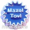 H7763 Mazel Tov Floating Locket Charm