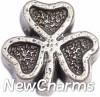H8264 Shamrock Floating Locket Charm